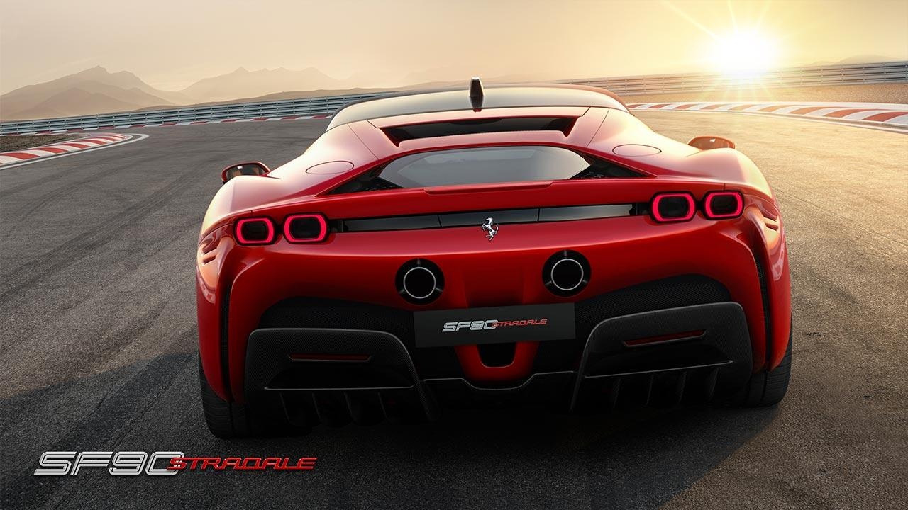 Ferrari SF90 Stradale - Heckansicht