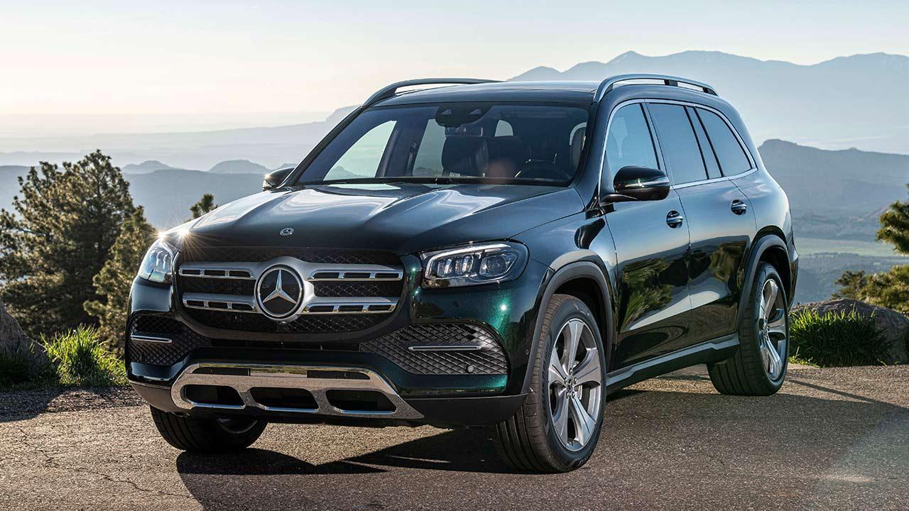 Mercedes-Benz GLS - Frontansicht