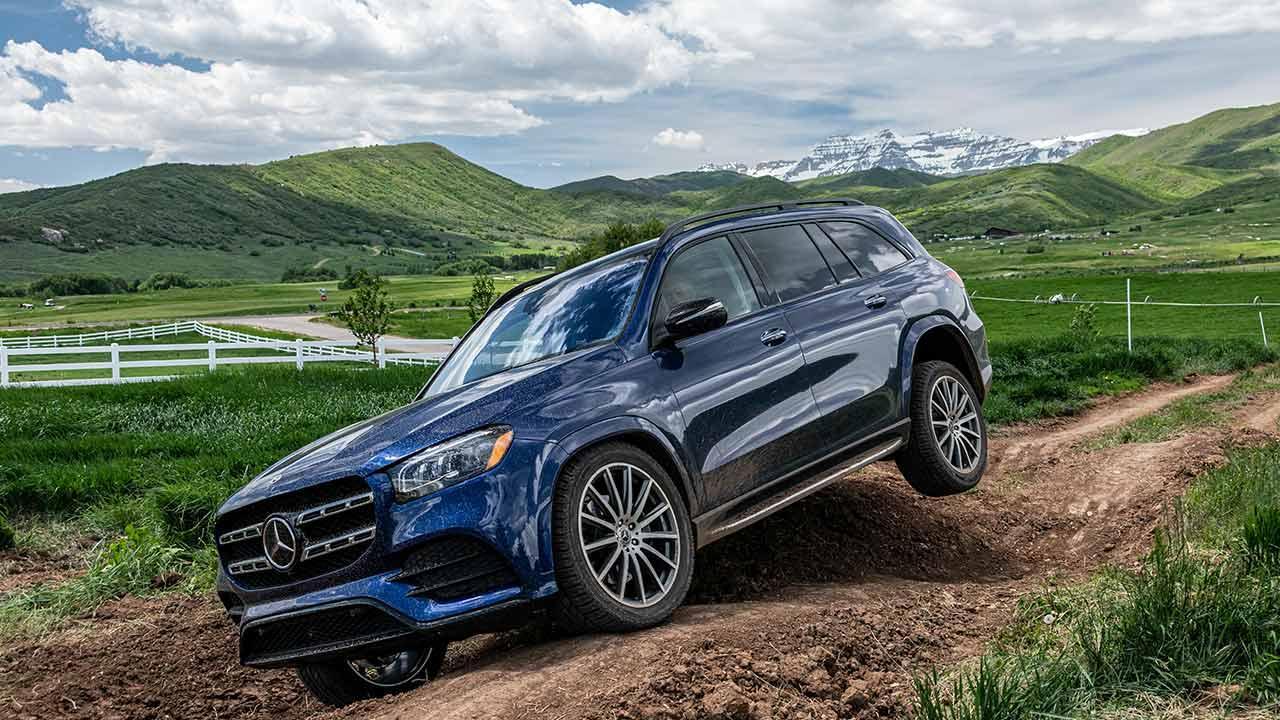 Mercedes-Benz GLS - im Gelände