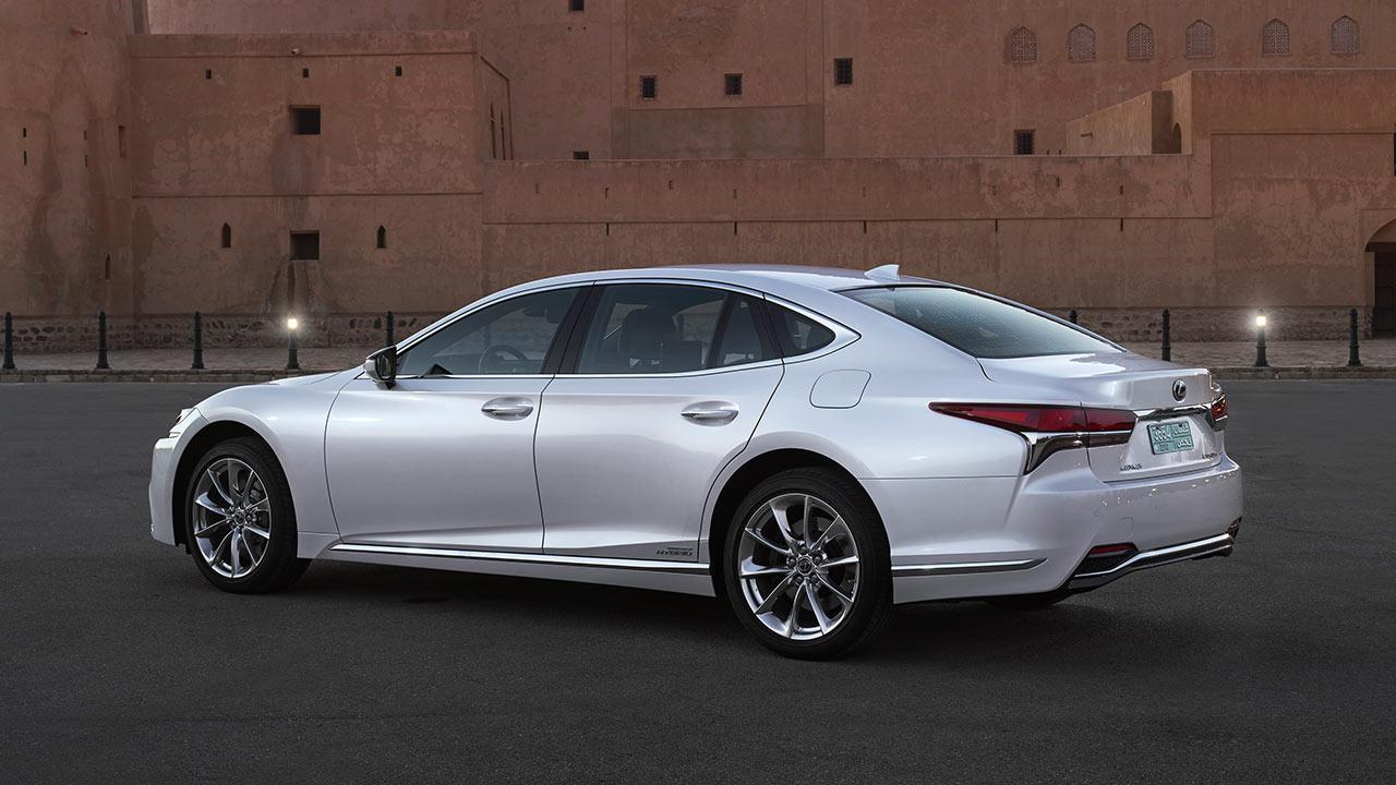 Lexus LS - Seitenansicht