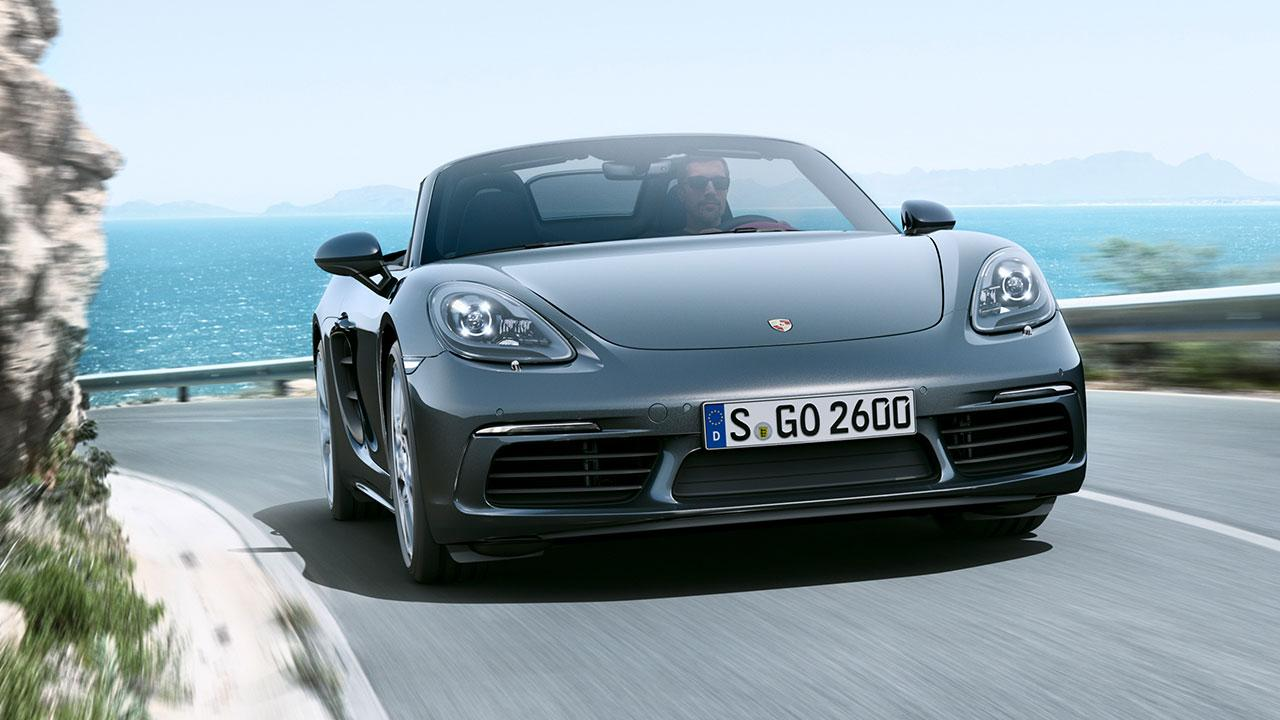 Porsche 718 Boxster - Frontansicht