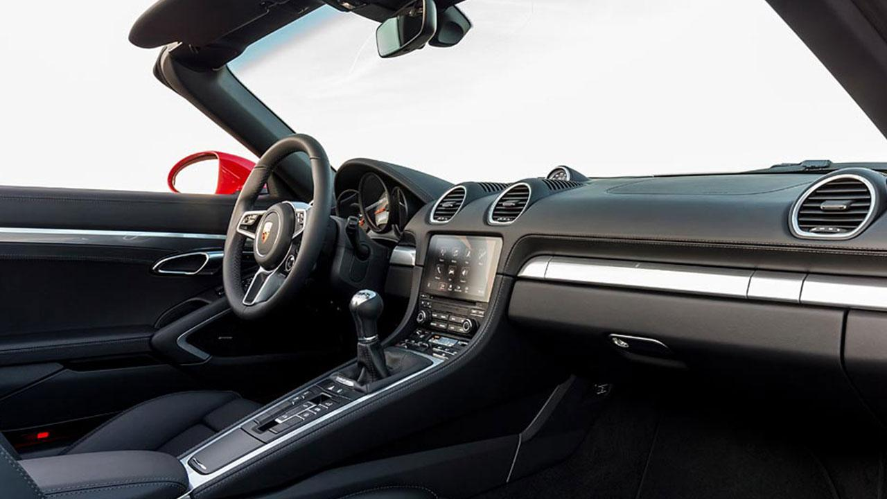 Porsche 718 Boxster S - Cockpit