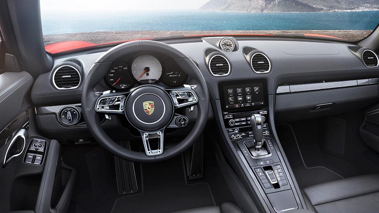 Porsche 718 Boxster S - Lenkrad