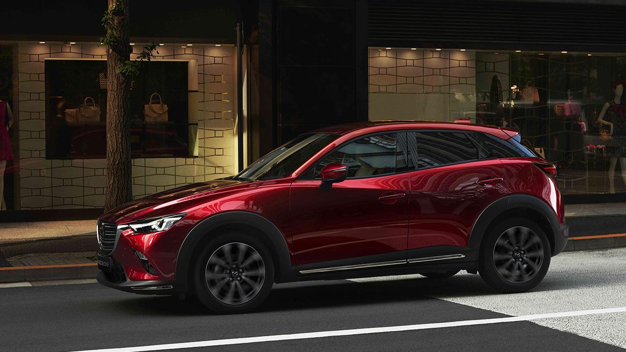 Mazda CX-3 - in der Stadt