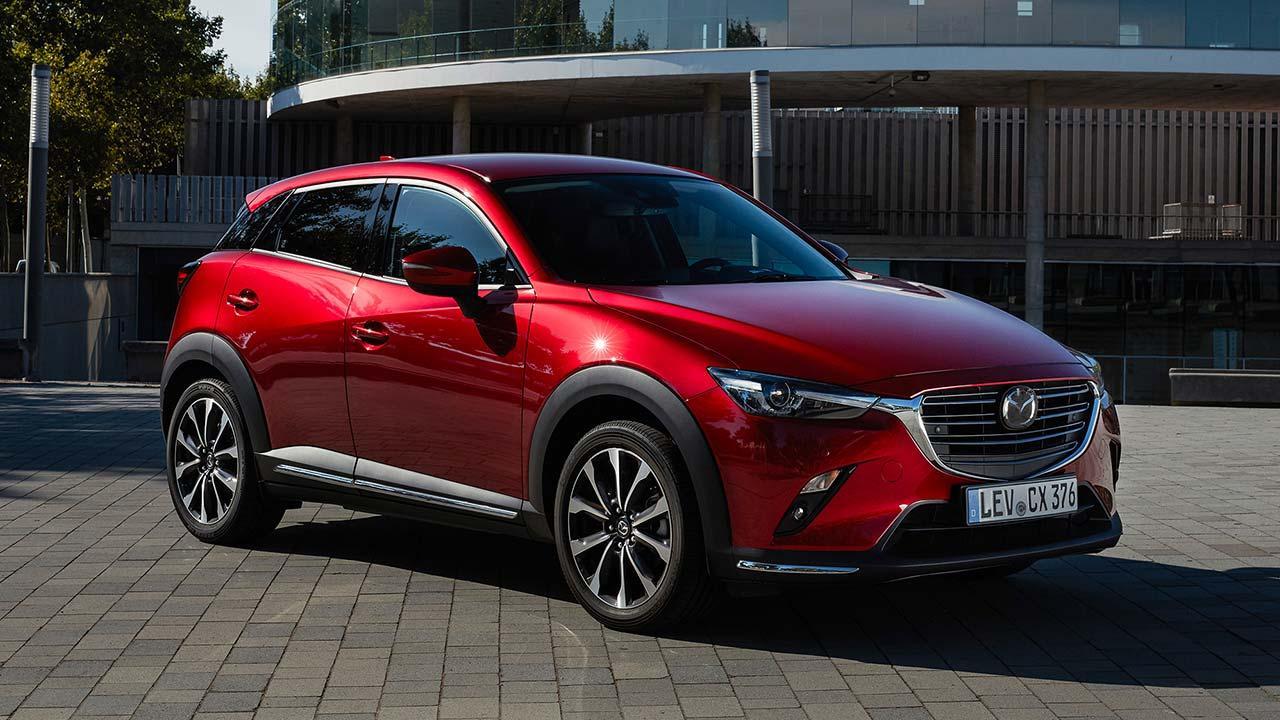 Mazda CX-3 - seitliche Frontansicht