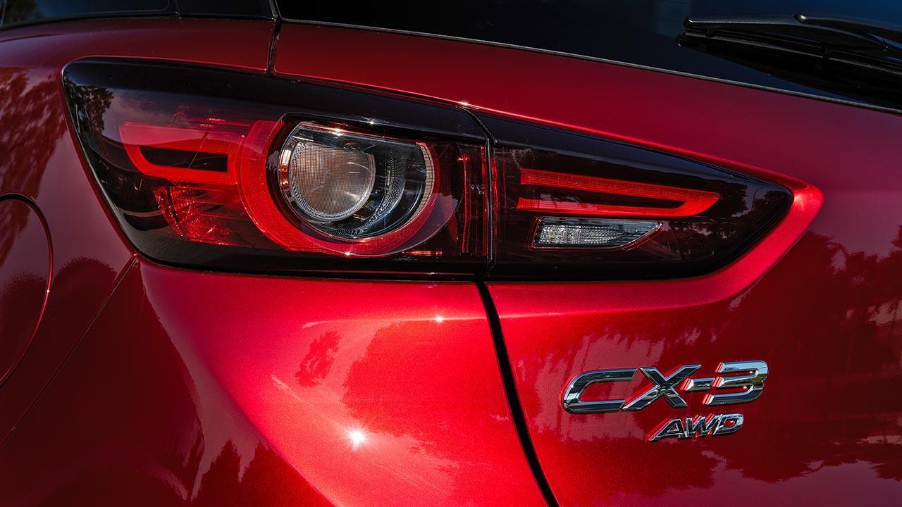 Mazda CX-3 - Schriftzug