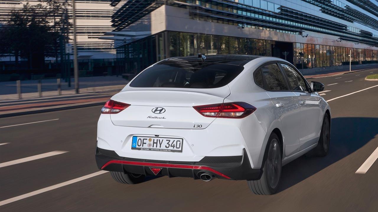 Hyundai i30 Fastback - Heckansicht