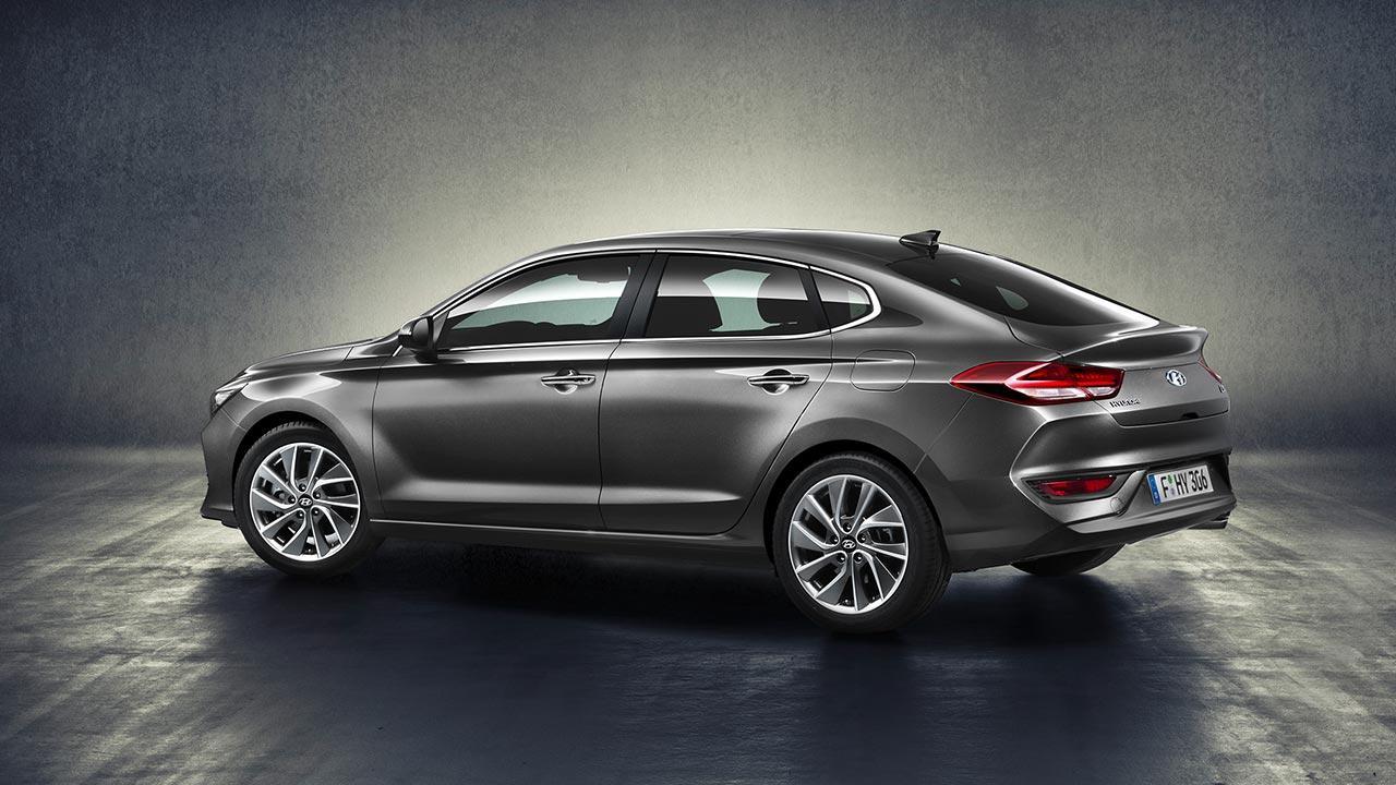 Hyundai i30 Fastback - in grau