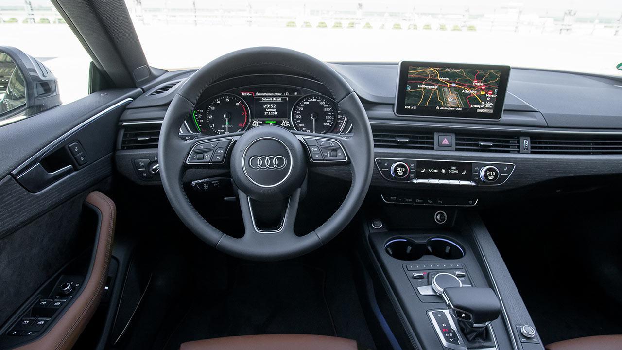Audi A5 Sportback g-tron - Cockpit