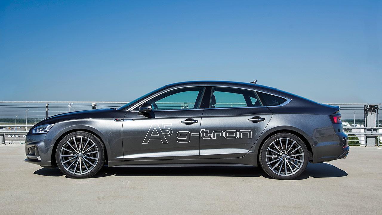 Audi A5 Sportback g-tron - Seitenansicht