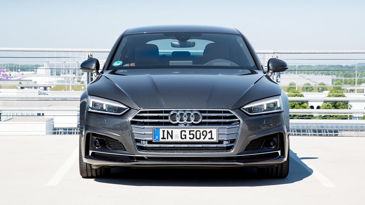 Audi A5 Sportback g-tron - Frontansicht