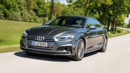 Audi A5 Sportback g-tron - in voller Fahrt