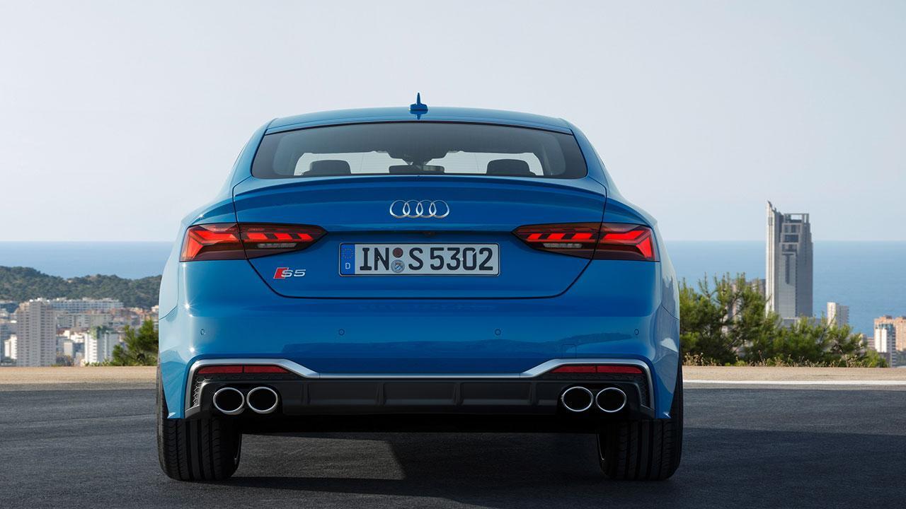 Audi S5 Sportback - Heckansicht