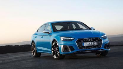 Audi S5 Sportback - auf der Rennstrecke