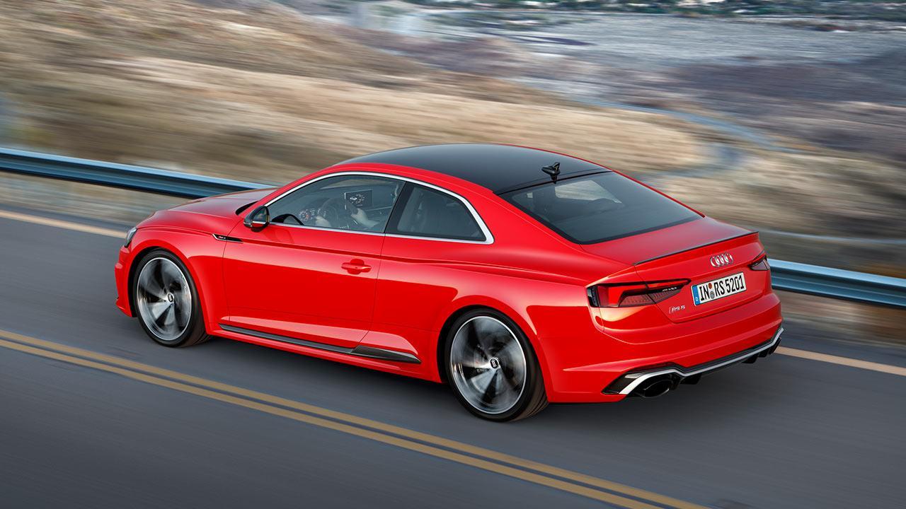 Audi RS 5 Coupé - Vogelperspektive