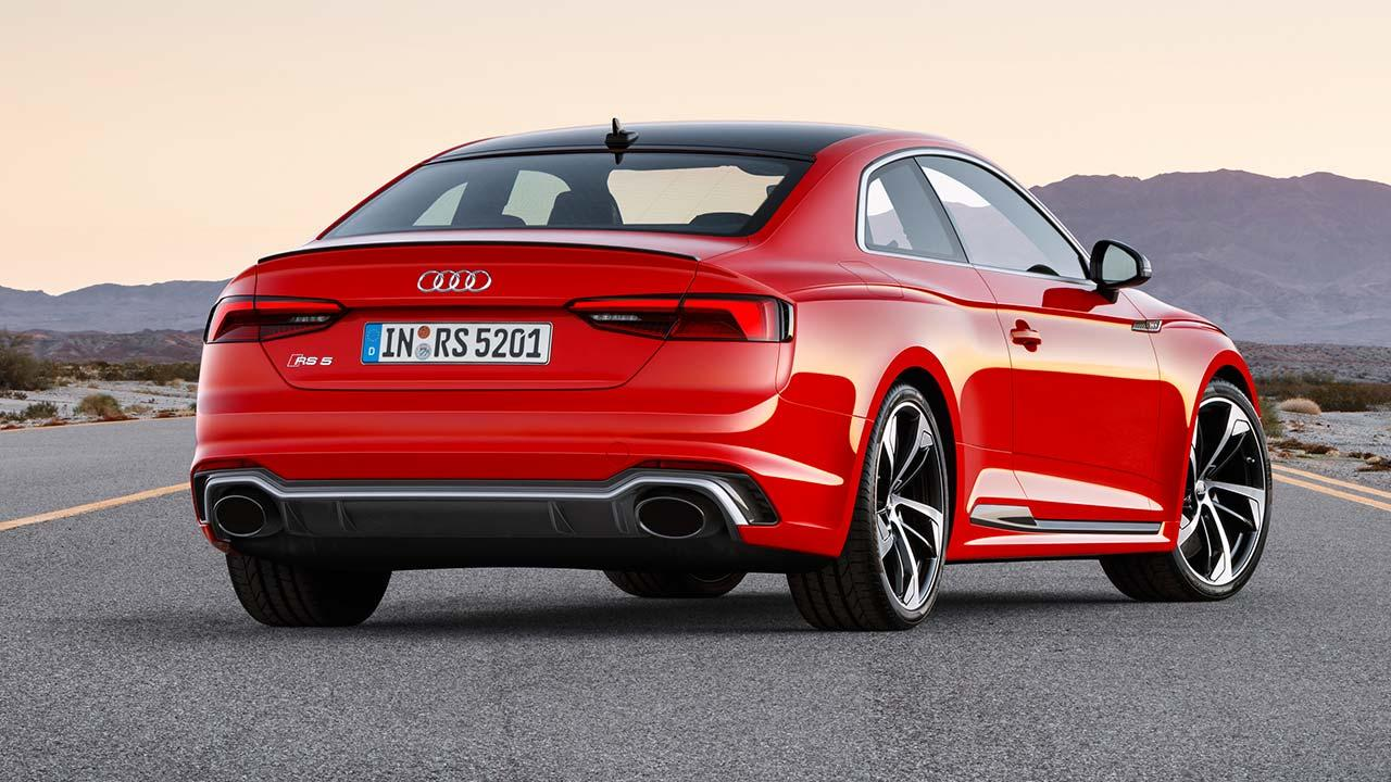 Audi RS 5 Coupé -  Heckansicht