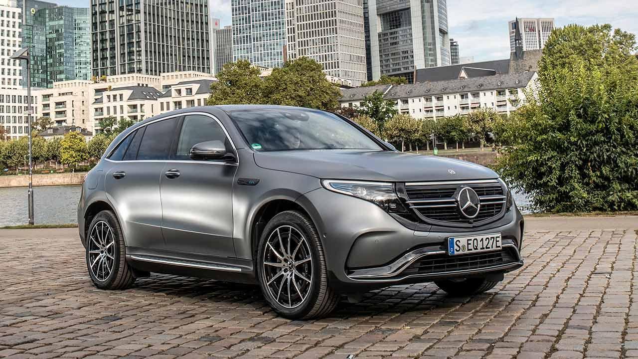 Mercedes-Benz EQC - Seitenansicht