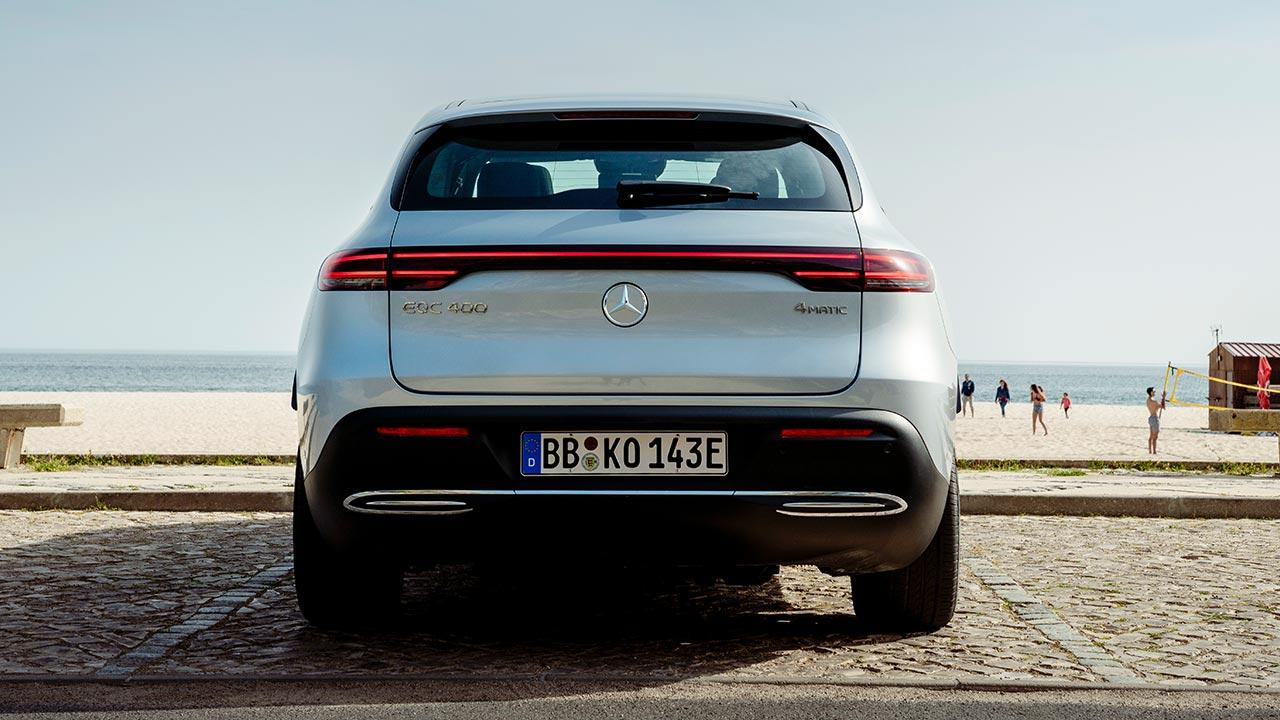 Mercedes-Benz EQC - Heckansicht