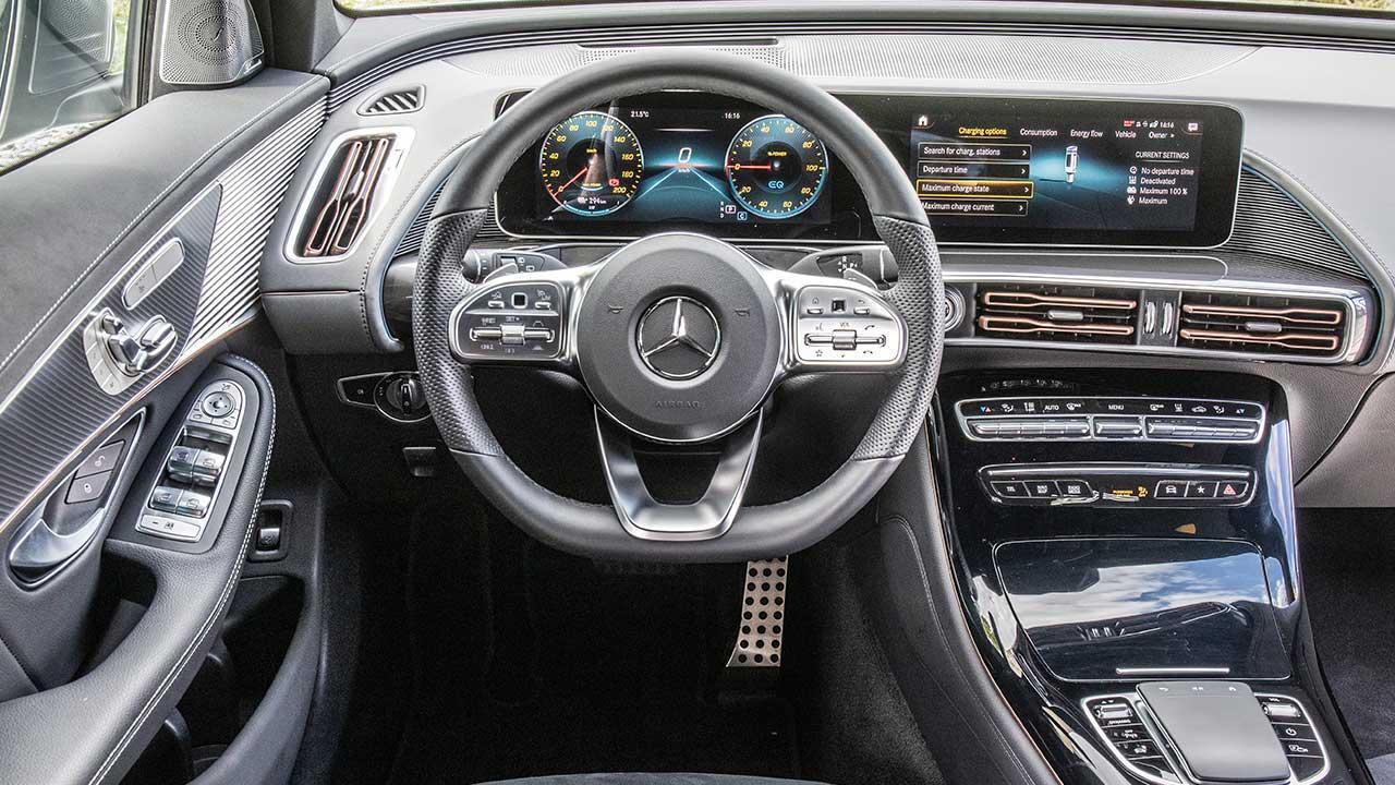 Mercedes-Benz EQC - Cockpit