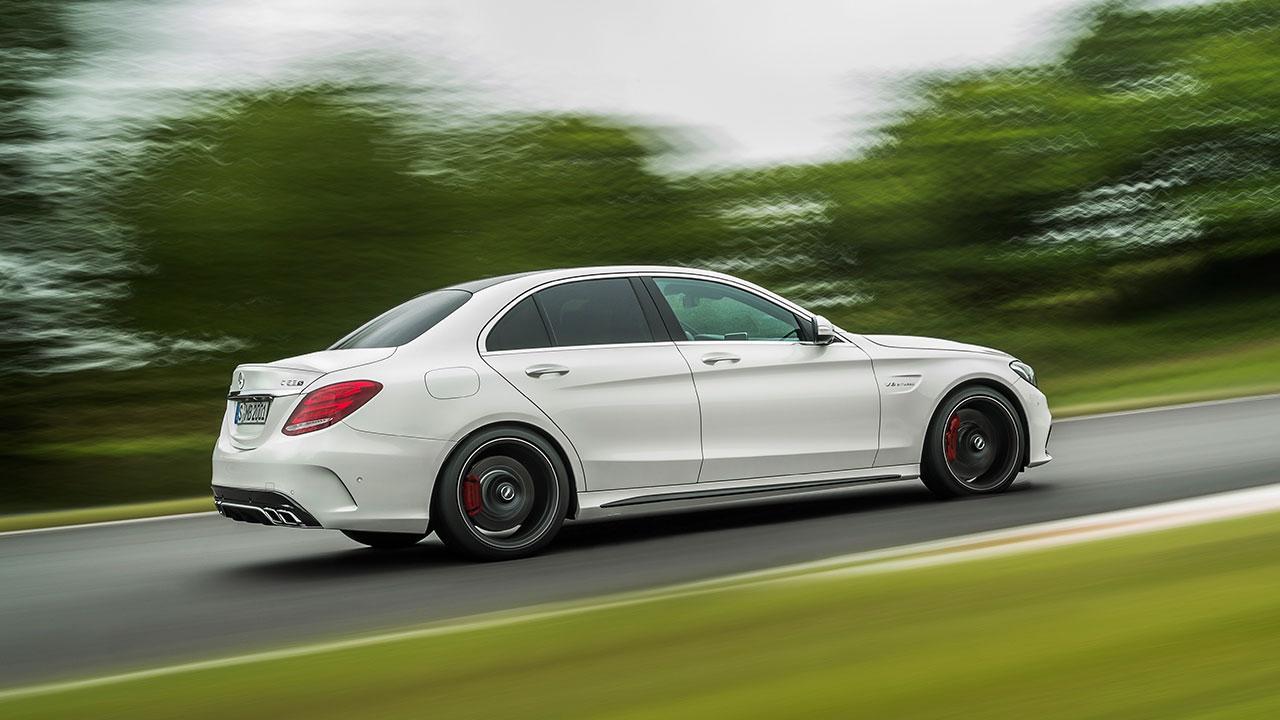 Mercedes-AMG C 63 Limousine - Seitenansicht