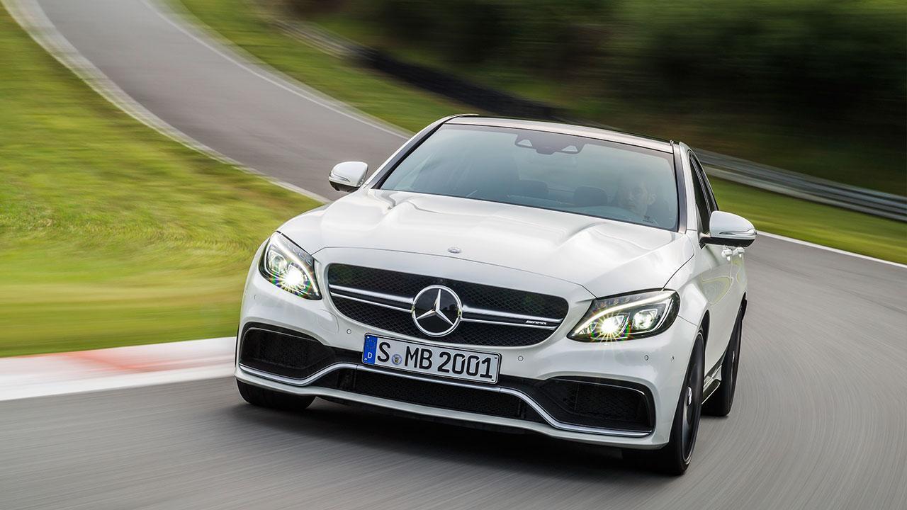Mercedes-AMG C 63 Limousine - Frontansicht