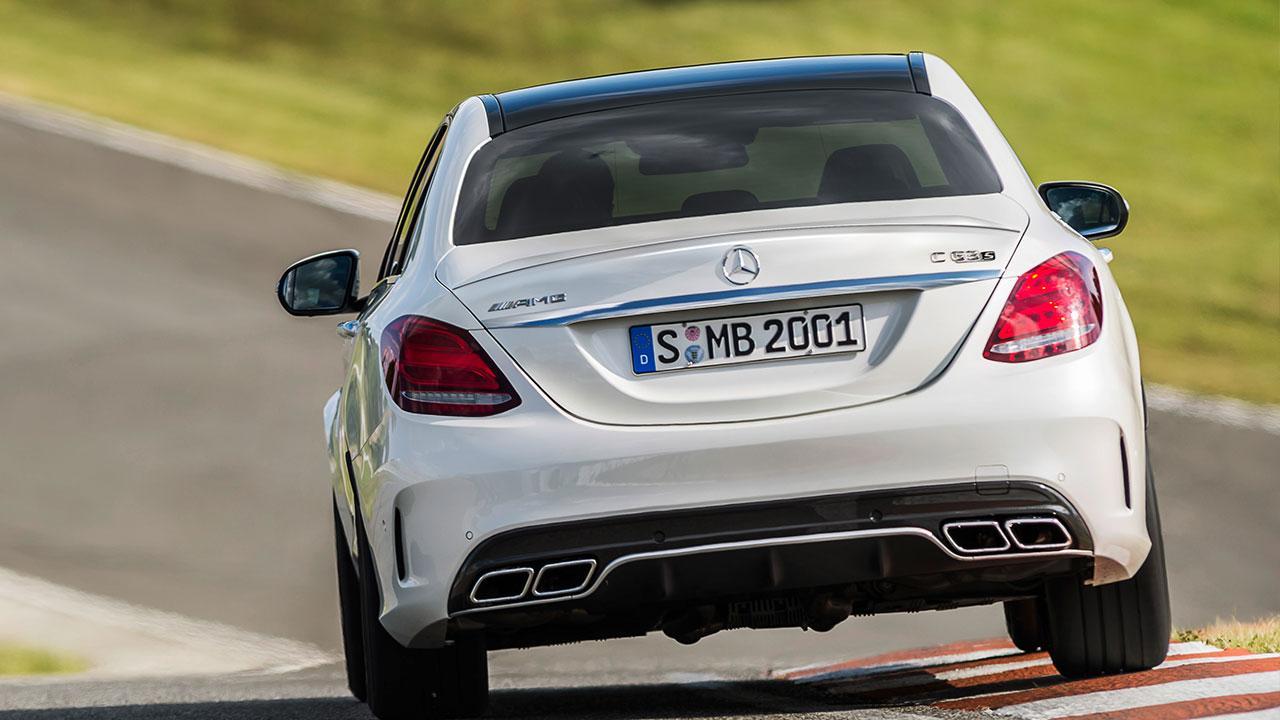 Mercedes-AMG C 63 Limousine - Heckansicht