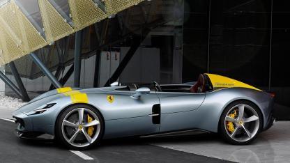 Ferrari Monza SP1 - in grau