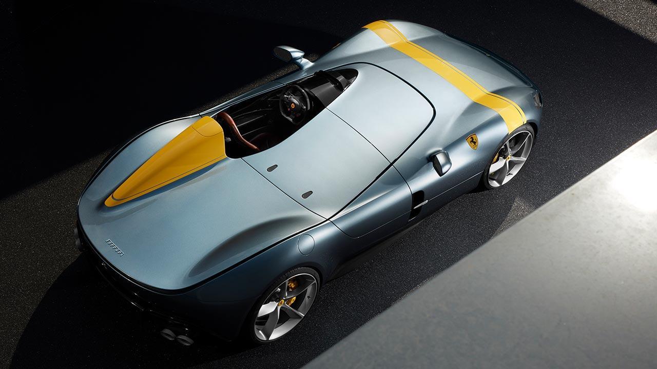 Ferrari Monza SP1 - Vogelperspektive