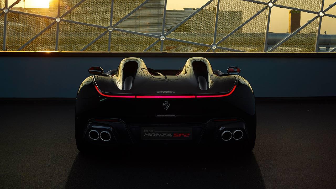 Ferrari Monza SP2 - Heckansicht