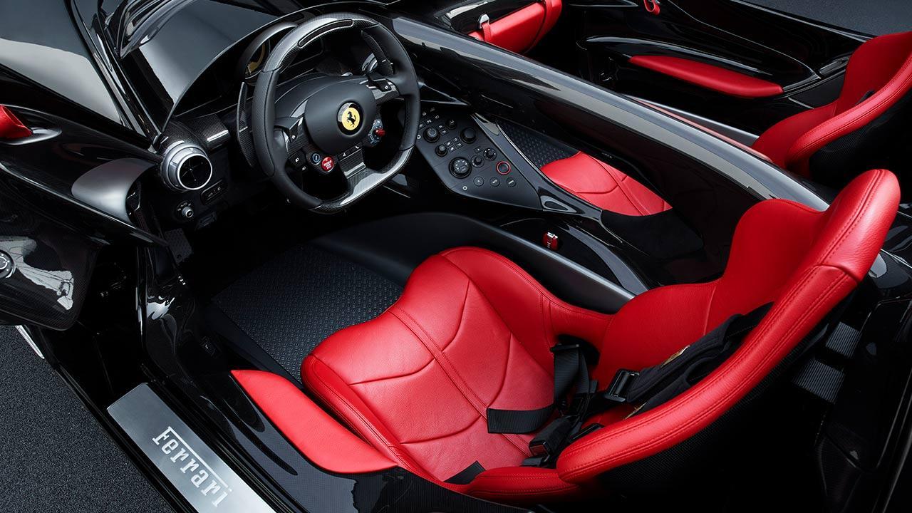 Ferrari Monza SP2 - Cockpit