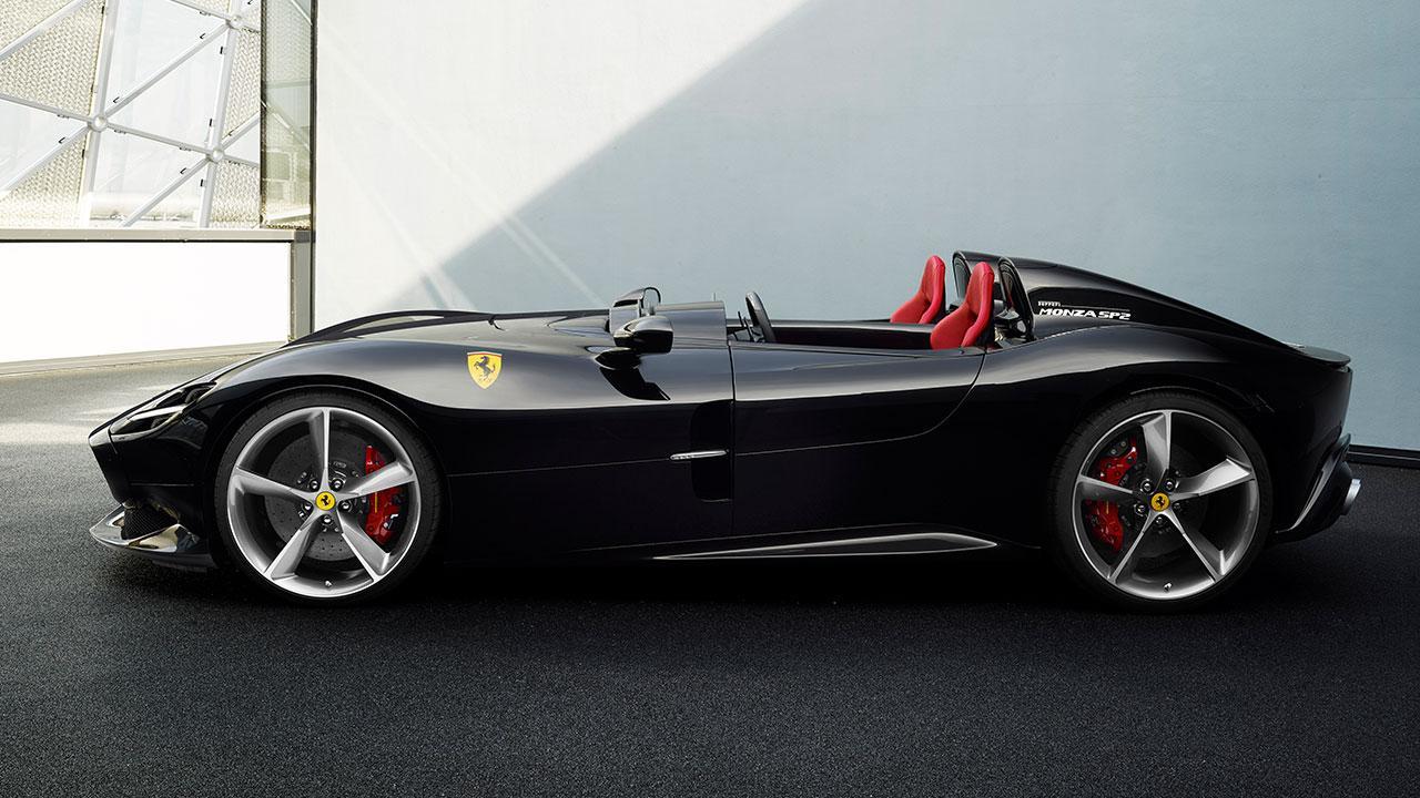 Ferrari Monza SP2 - Seitenansicht